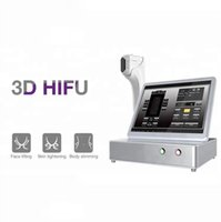 multi lines 3D hifu machine face lift and body slimming 8 cartridges selection