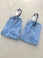 2020FW KITH Kot Erkek Kadın 1: 1 En Kaliteli Streetwear Denim Pantolon KITH Kovboy Düğme Kot