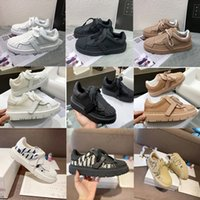 [Con caja] 2021 Spring Summer Shell Head Cowhide Zapatos casuales Joker Suela de espeso Aumento de ocio Tamaño de los deportes 35-40
