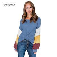 Женские толстовки для толстовки Danjeaner женщин весна o шеи с длинным рукавом повседневный пуловеры женские трексуиты теплые вершины