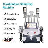 Nova máquina de congelamento de gordura Cryo Cryolipolysis Cryolipolisis Bellipolisis Belly Freeze Levantamento 360 Cavitação de Emagrecimento de Vácuo Crioterapia