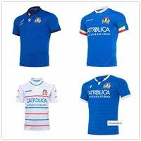 كأس العالم 2019 إيطاليا الرجبي قميص قميص Maillot Camiseta Italia Maglia Tops S-5XL Trikot Camisas Kit