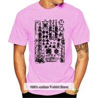 Men's T-Shirts Soyuz Blueprint Relaxed Shirt For Men Stencil Screen Print Tshirt Soft & Comfy Casual Gift T