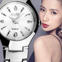 ساعة اليد الحديثة للإناث البساطة الكوارتز ساعة عالية الجودة عارضة المعصم المرأة zegarek damski relojes 50 المعصم