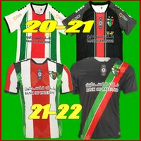 S-2XL 2021 Filistin Futbol Forması 2122 Tayland Kalite Survetement Filistin Filistinliler Filistino Rosende Futbol Gömlek