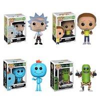 Funko Pop! Morty setze Spielzeug rund um Rick Mortys Film- und Fernsehanimation