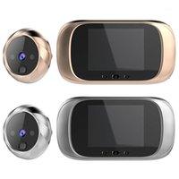 2,8-Zoll-LCD-Farbbildschirm-Digital-Türklingel 90-Grad-Türauge elektronischer Peephol-Kamera-Viewer im Freien Bell1