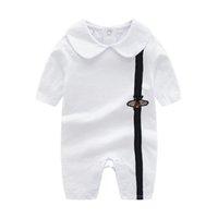 Fashion 2021 Toddler Newborn Designer Baby Boys Girls Romper short Sleeve Cotton Infant Kids Cloth Jumpsuit Playsuit Outfits children Clothing