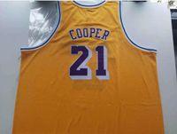 Rare Basketball Jersey Homens Juvenil Mulheres Vintage 1984-85 Michael Cooper College Size S-5XL Personalizado Qualquer nome ou número