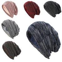 Women Men Winter Warm Hat For Adult Unisex Outdoor New Wool Knitted Beanies Skullies Casual Cotton Hats Cap DD573
