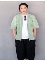 Vestes pour hommes Miyake plissé Cardigan Cardigan Cardigan Style d'été Japonais Sous Verme Casual Simple Hommes