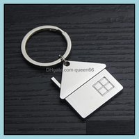 Keychains Fashion Aessoriescute Cartoon House With Window Keychain Kids Key Chain Bag Charm For Party Gift Jewelry Drop Delivery 2021 A6Dqm