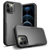 3in1 아이폰 13 12 미니 11 Pro XS Max XR 7 8 Samsung S21 TPU 하드 PC 프레임 Shockproof Defender Cover