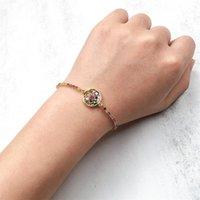 Link, Chain MOFLO Adjustable Hand Jewelry Rainbow Crystal Rhinestone Tennis Slider Bracelet Zirconia Coin