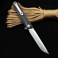 سكين مصنع d2 للطي مجال بقاء متعدد الوظائف التكتيكية الفولاذ المقاوم للصدأ في الهواء الطلق dhl hert