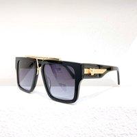 أزياء نظارات شمسية UV400 فريدة من نوعها الساقين شعار Sunglassess 1009 مصمم السخي الإطار الكامل حماية العين Sunglasse مع المربع الأصلي