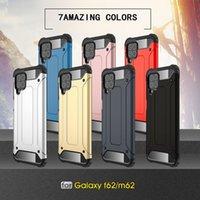 TPU + PC Hibrid Koruma Kılıf Samsung Galaxy A22 A02 M02 A02S A12 A32 A52 A72 5G S21 Artı Not 20 Ultra S20 Kapak