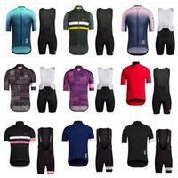 RAPHA team Cycling Short Sleeves jersey (bib) Maillot shorts sets pro Clothing Mountain Breathable Racing Sports Bicycle Soft Skin-friendly can be mix 42348