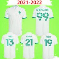 2021 2022 Colorado Soccer Jerseys # 19 Preis sc # 21 Namli Uniformen MLS 21 22 # 13 Reben # 99 Shinyashiki Fußball-Hemd Startseite Away S-2XL Kurzarm