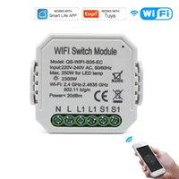 Smart Home Control WIFI Intelligent Switch DIY Breaker Module APP Remote Electric Quantity Meter Compatible With Amazon Alexa Google