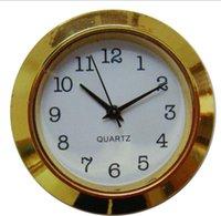 2021 Золото 1 7/16 дюймов пластиковая вставка вставка столица спаданий арабский циферблат поддано часы перемещения PC21S