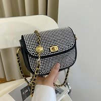 Shoulder Bags Elegant Banquet Diamonds For Women 2021 Fashion Evening Party Female Crossbody Bag Pu Leather Handbag
