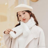 2019 Designer Scarf For Women New Korean Version 80cm *12cm Five Colors Scarves Keep Warm