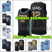 Basketbol Formaları JA Morant Jersey Steven Adams Marc Gasol Santi Aldama Kyle Anderson Desmond Bane Dillon Brooks Brandon Clarke Özel Dikişli