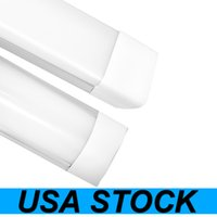 USA Stock 3ft Shop Light Fixture 48W LED Tube Lights 4800lm 6000K 4000K 3000K 3 color temperatures Lightss 120cm Garage Closet Lighting for Office Home Basement