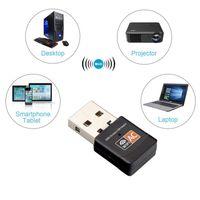 600Mbps USB WiFi adaptador duplo banda 2.4g / 5ghz placa de rede sem fio mini lan adaptadores wi-fi 802.11ac ethernet receptor dongle kdjk2105
