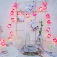 Party Decorazione LED luci luci oceano viola polvere palla decorativa style layout ragazza cuore camera da letto soggiorno proposta luce