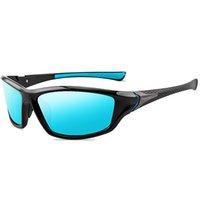 Mougol polarizado Visión nocturna Gafas de sol Conducción de hombres Gafas de sol para hombres Plaza Deporte Marca de lujo Mirror Sombras Oculos de Sol