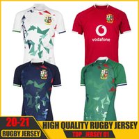 Nuovo 2021 Top Britannici e Irish Lions Rugby League Jersey Home National Team Lions Lions Shirt01