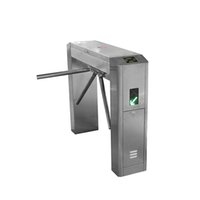 Kinjoin Turnstile Preis QR Scanner Vertikale Stativ Tourniquet-Tür mit WIEGAND RFID-Zugangskontrolle