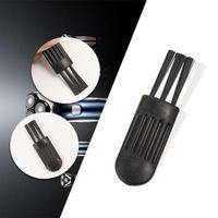 Bolso de cepillo limpio de plástico portátil para la amoladora de humo Vaporizador seco Vaporizador de cigarrillo de tabaco máquina de polvo de polvo de polvo