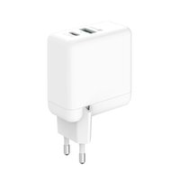 PD65W Adattatore di alimentazione Tipo C + USB A Super Fast Charging Caricatore da parete USA USA per Smart Mobile Android Phone