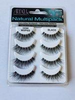 ARDELL eyelashes 4pair lot 100% Real Siberian 3D Full Strip False Eyelash Long Individual Eyelashes Lashes Extension