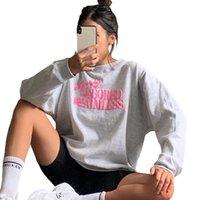 Womens Hoodies Sweatshirts Autumn Embroidery Loose Pullover Woman Chic Oversize Korean Style Tops Streetwear Sweatshirt Female Kpop Basic Clothing