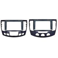 Автомобиль Fassia A / C Dash Kit Установить Facia DVD Рамка Радио Панель Пластина Отделка для Hyundai Sonata NFC 2008-2010 Рыболовные аксессуары
