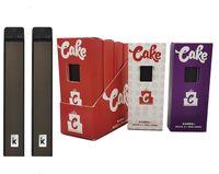 Delta 8 torta Dispositivo di serpente monouso Device Pod E-sigarette Kit di avviamento 1ml PCTG PODS Vuoto vuoto Pods 270mAh 3.3 V Tensione Batteria ricaricabile Snap-on