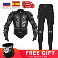 Motorcycle Jacket Pants Suit Racing Body Armor Men Protector Protective Gear Motocross Moto Motorbike Equipment Clothing
