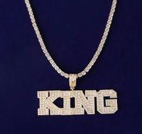 Men's Custom Name Letter Baguette & Round Pendant Necklace Sim Diamond Micro Pave Cubic Zirconia Hip Hop Jewelry