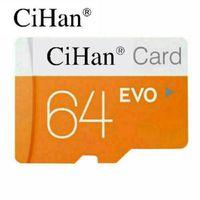 Cihan 마이크로 SD 카드 64G Class10 TF 메모리 카드 카메라 용 초고속 플래시 메모리