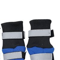 Waterproof Winter Dog Boots Reflective Pet Snow Boot Shoes for Small and large dogs 329 R2