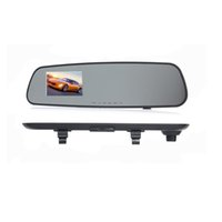 Camcorders 1080p 720p rearview mirror driving recorder 3.2 inch car recorders cameras