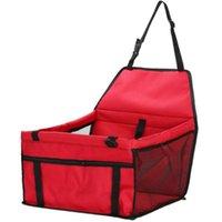 Oxford Impermeabile Pet Dog Carrier Pad Cassaforte Pieghevole Pieghevole Cat Cucciolo Borsa Dog Car Seat Seat Baite Basket PET PRODOTTI 392 R2