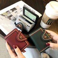 França moda luxurys estilo designers moeda bolsa de couro de couro carteira de carteira de cartão mulheres pequenas e grande capacidade multi slot requintado