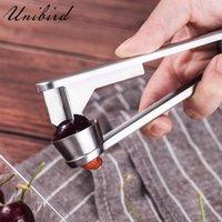 Unibird из нержавеющей стали вишня PTTER легкие красные даты оливок оливки Corer Corer Pitter Remover сжимает камень пикет кухонный инструмент гаджет 210319