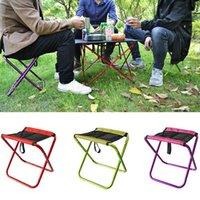 Chaises pliantes mini portables camping de pêche pique-nique pique-nique petit tabouret accessoires de siège