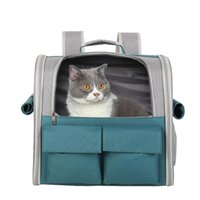 Cat Carriers,Crates & Houses Portable Backpack Bag Breathable Carrier Pouch Pet Transportation Travel Collapsible Handbag Transport Cage For